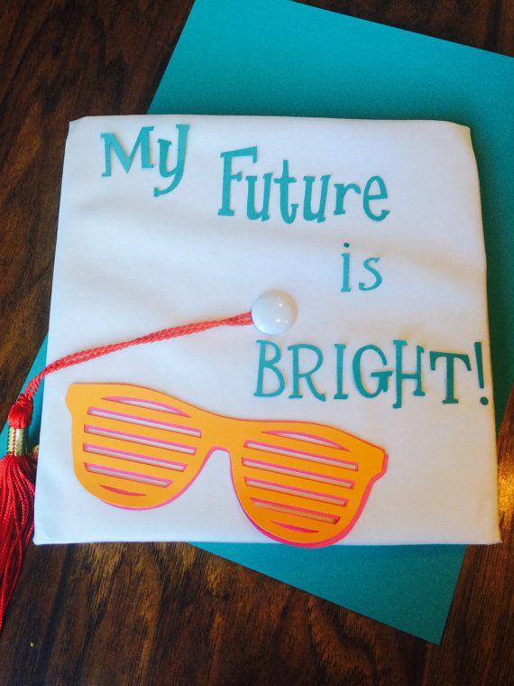 My Future Is Bright Kindergarten Preschool Grad Cap Top Kindergarten Graduation Kindergarten Graduation Cap Graduation Cap Decoration