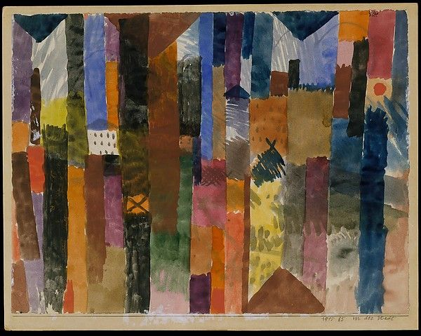 Paul Klee | Before the Town | Paul klee, Astratto, Pittura