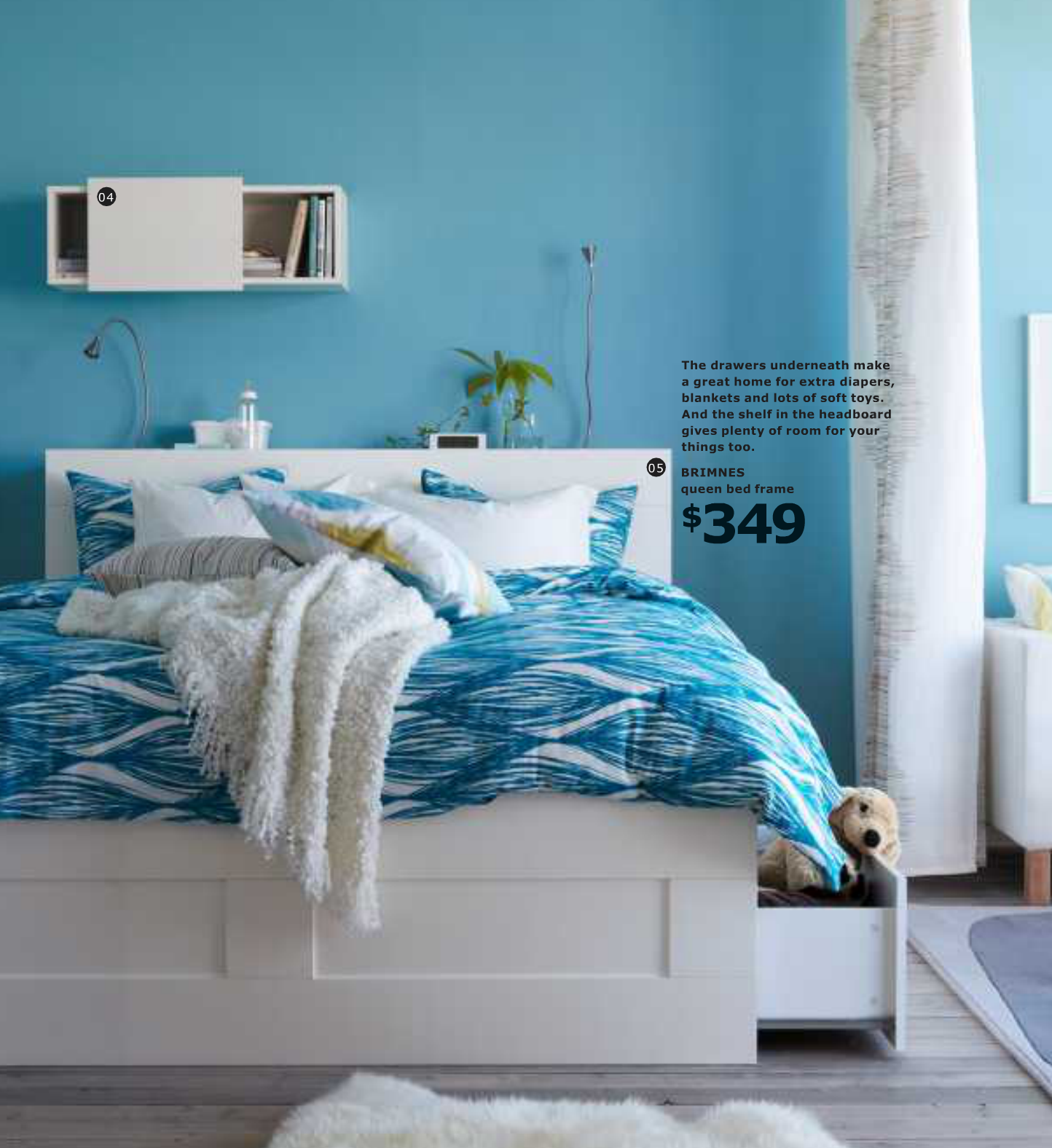 Blue bedroom design for teenagers - Ikea Modern Bedroom Decorating Design Ideas 2013 Here Is A Collection Of Designs Bedroom From Ikea 2013 Catalog Ikea Bedroom Is
