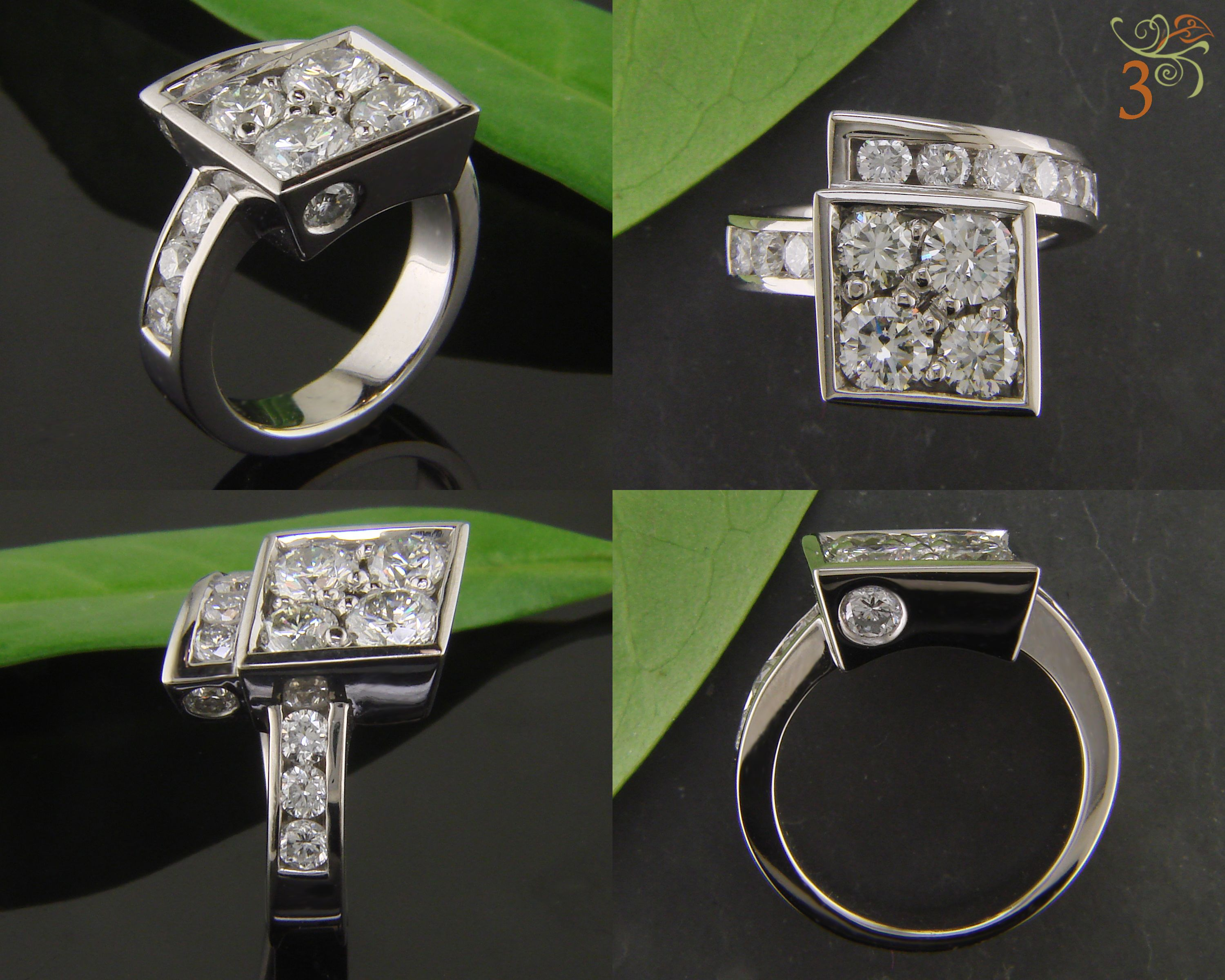 cert preston jewellers whittles rev emerald clipped ring month plat platinum products cut faroe em e diamond rings