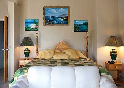 Master bedroom  #Caribbean #villas #beach