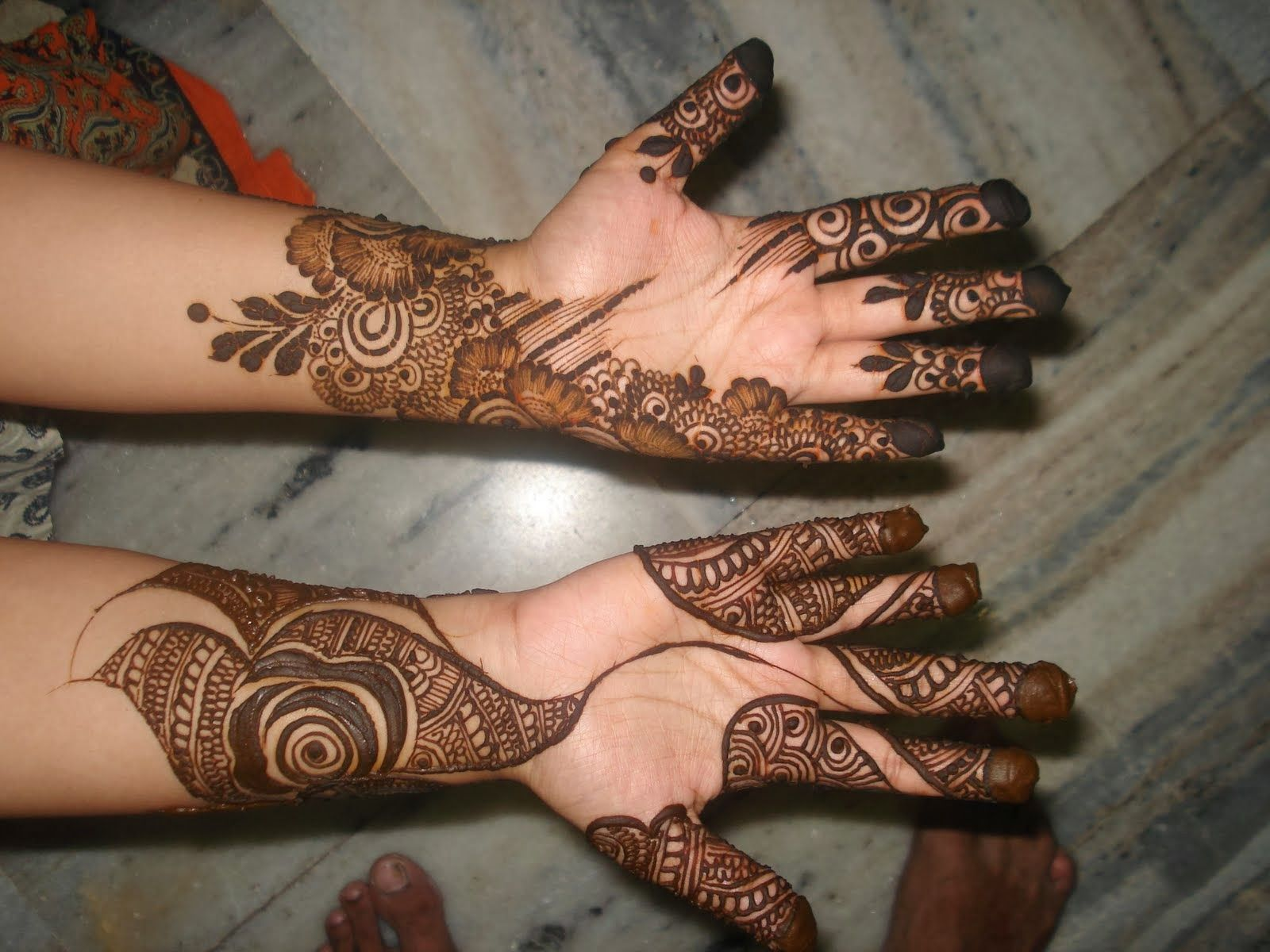 Girl Mehndi Designs. Bridal mehndi designs for full hand