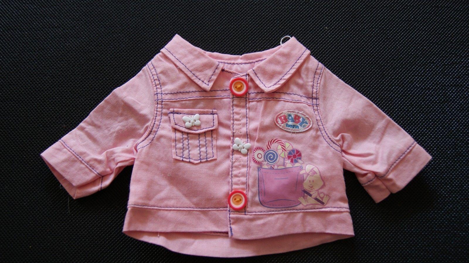 Baby Born  Zapf  Creation  Sommerjacke Jacket  Mantel     Puppe 43 cm  Kleidung in Spielzeug, Puppen & Zubehör, Babypuppen & Zubehör | eBay!