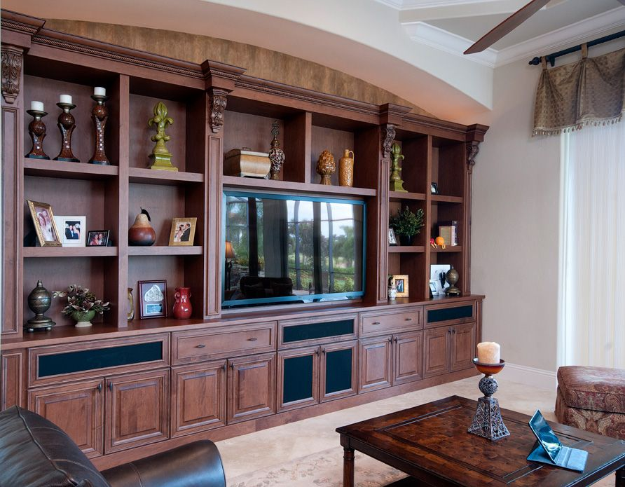 Palmira Design Studio By Raymond Built In Cabinets Family Room Design Get family room storage cabinets
