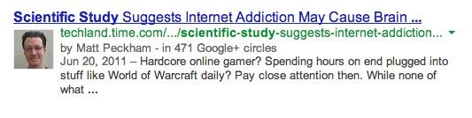 SERP query result for [Scientific Study]