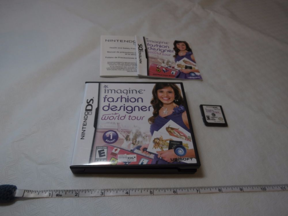Imagine Fashion Designer World Tour Nintendo Ds 2009 Nds Ds Game Design Imaginefashiondesignerworldtour Game Design Fashion Design Nintendo Ds