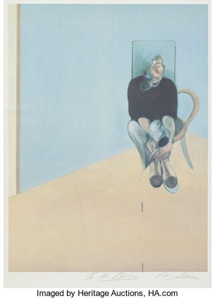 Fine Art Work on Paper:Print, Francis Bacon (British, 1909