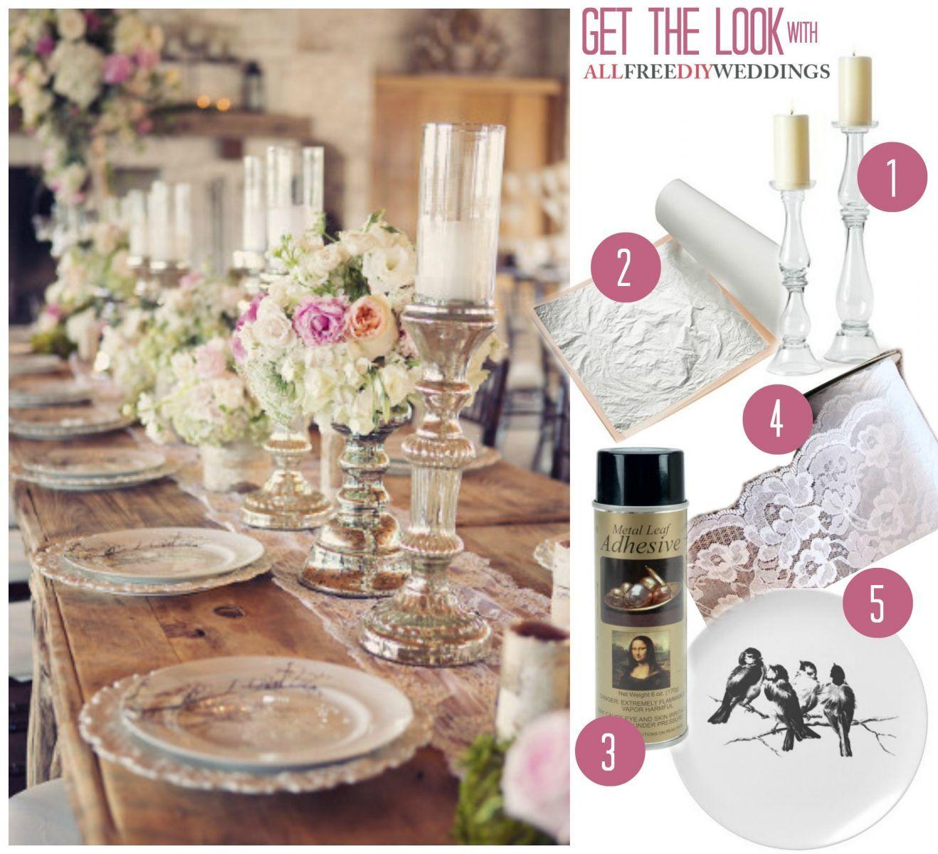 Romantic Lace Table Runner #romanticlace