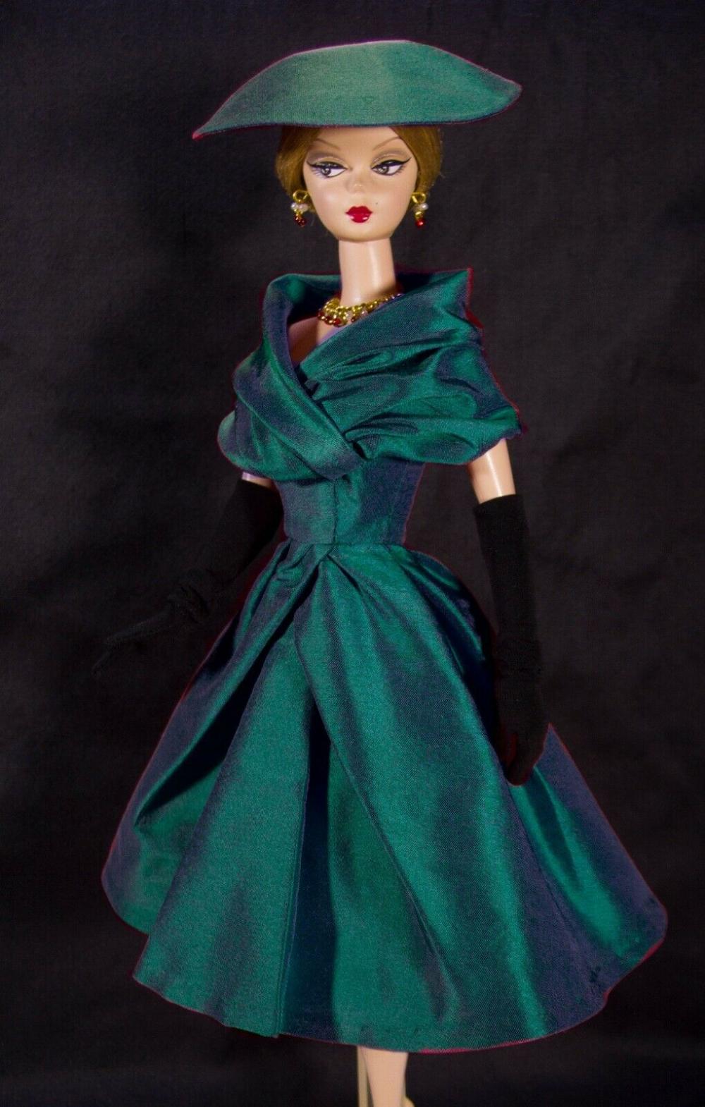 Dress On Demand Ooak Outfit Fits To Vintage Silkstone Barbie By D B Ebay In 2020 Vintage Barbie Clothes Doll Clothes Barbie Barbie Clothes