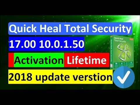 quick heal antivirus pro activation key 2018