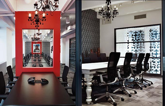 My Type Of Office, Gothic Meets Virgin Mobile Office Designed By Gensler