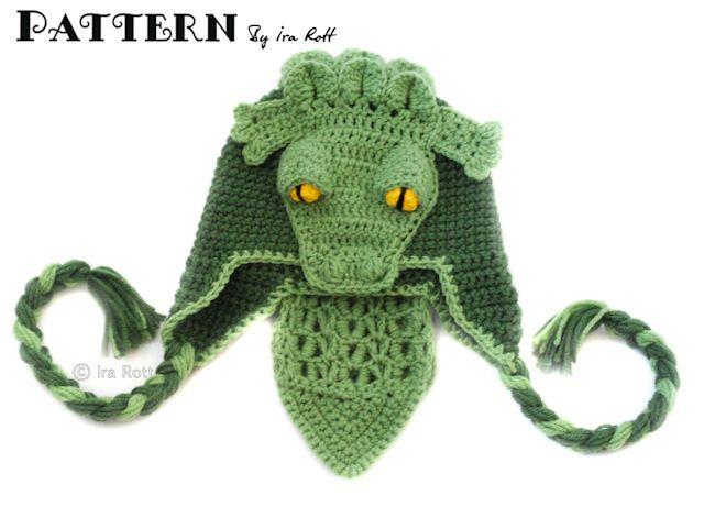 Snappy Simon the Crocodile Hat PDF Crochet Pattern | Alligators ...