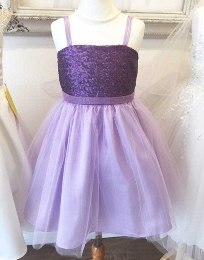 Flower Girl Dress Sequined Bodice And Tulle Overlay Skirt Lilac Party Dress Special Occasion Dress In 2021 Tulle Overlay Skirt Sequin Flower Girl Dress Girls Special Occasion Dresses [ 1024 x 805 Pixel ]