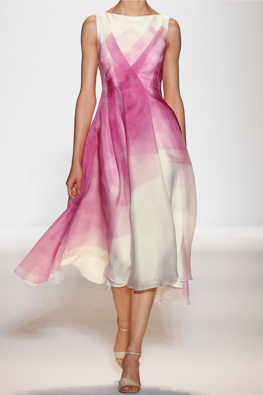 50394849bf90 Lela Rose | Printed silk-organza dress | NET-A-PORTER.COM - my dress to  wear to the Ballet. Isn't it beautiful?