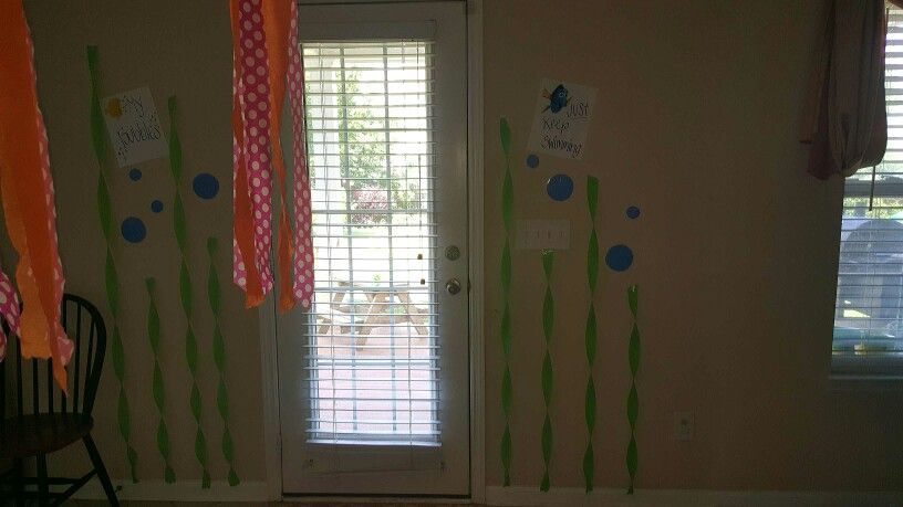 My finding nemo diy party