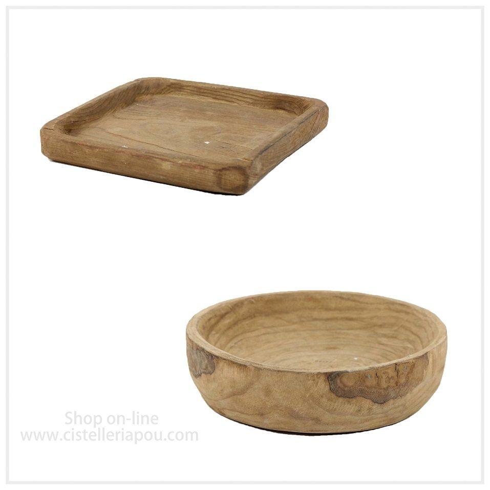 Base de madera para centro floral cuenco de madera for Adornos de madera para pared