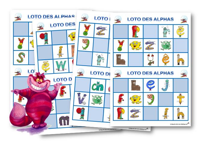 Fabuleux Le loto des Alphas | Les Alphas | Pinterest | Les alphas, Alphas  QR53