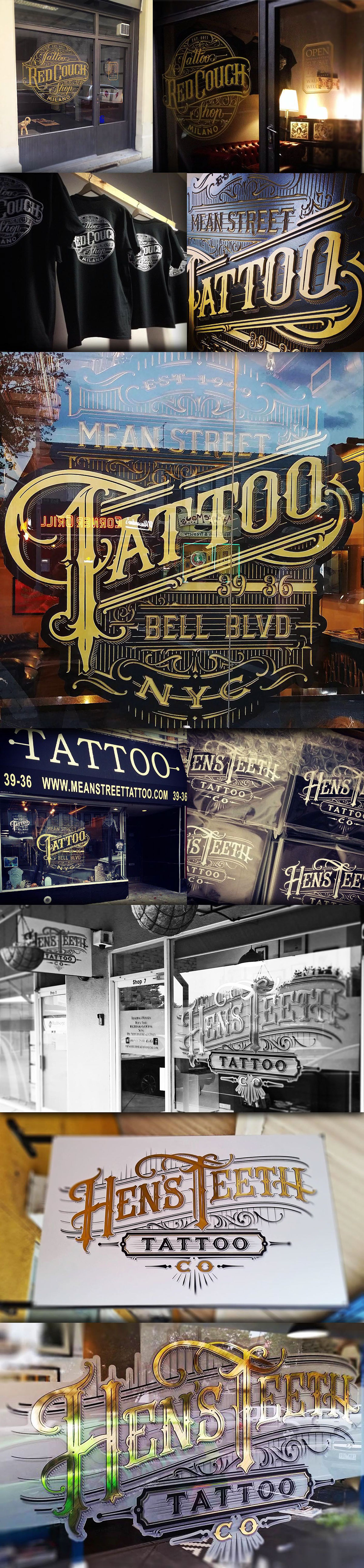Tattoo Parlours on Behance                                                                                                                                                                                 More