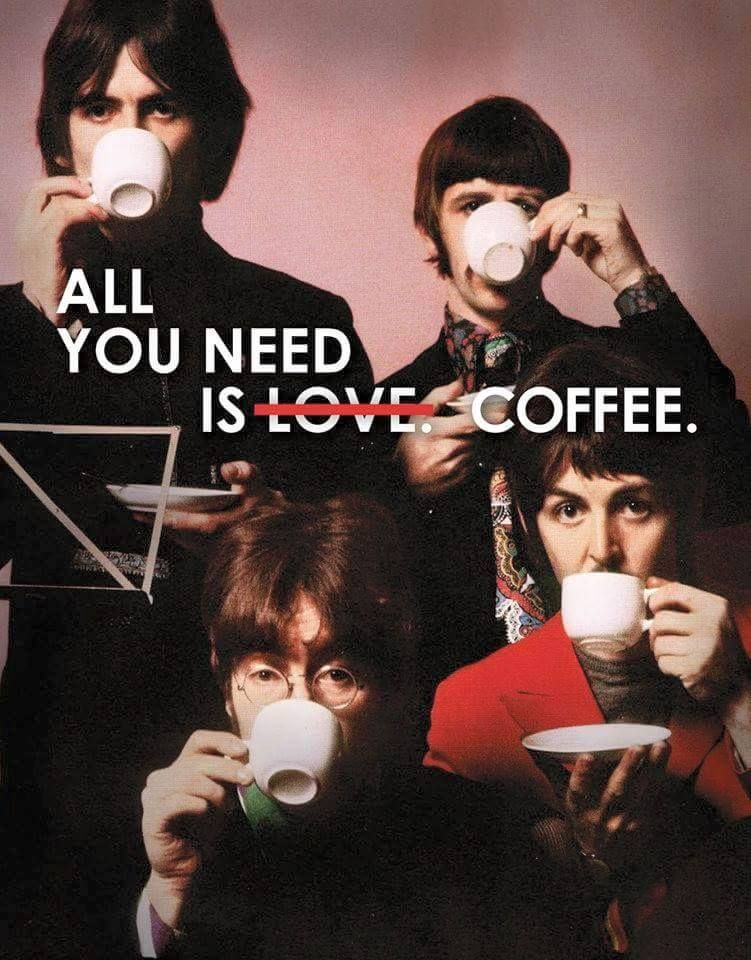 All you need is coffee ☕