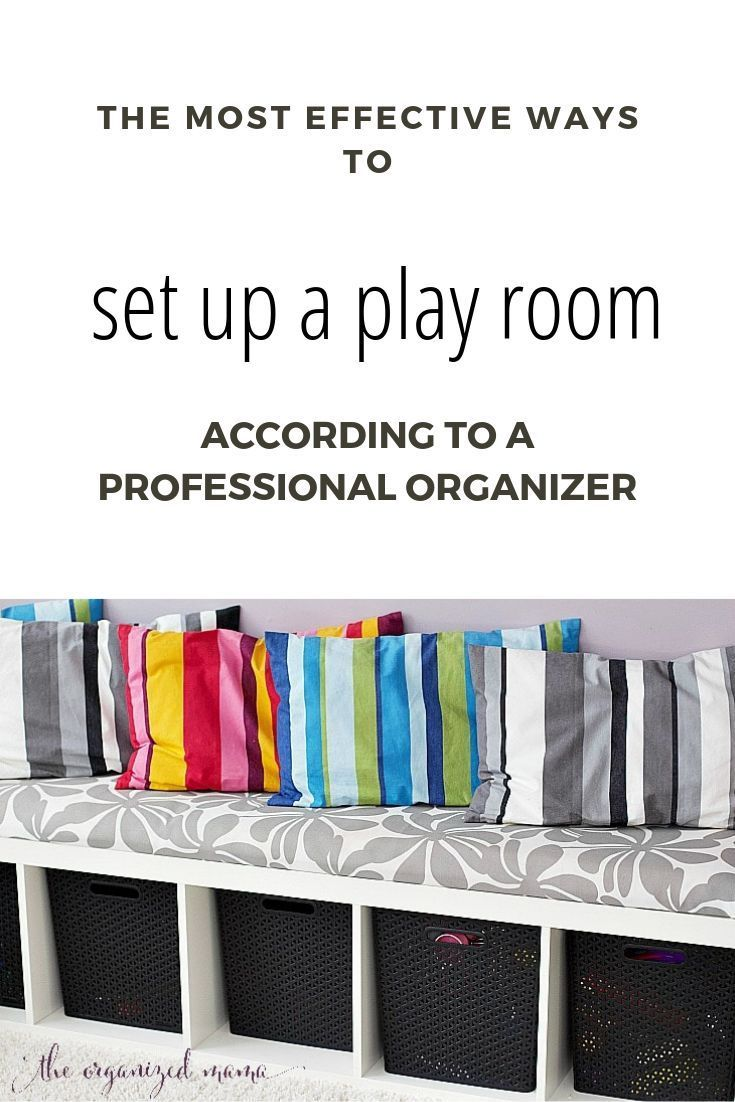 The Most Effective Way To Set Up A Play Room According To A Professional Organizer