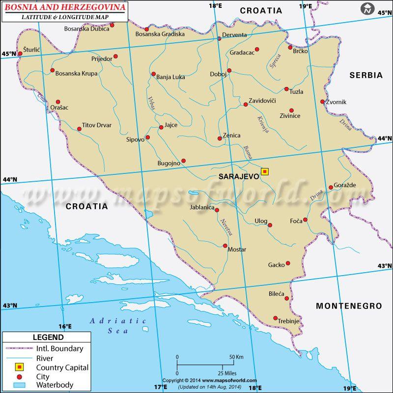 Pin By Mapsofworld On Latitude Longitude Maps Latitude And