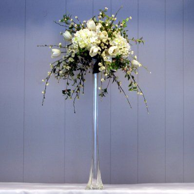 Large Flower Arrangement For Calla Lily In Eiffel Tower Vase