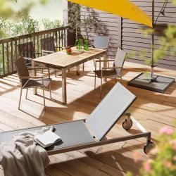 Photo of Outliv. Table top 200x100cm Teak Natur Natur Outliv.