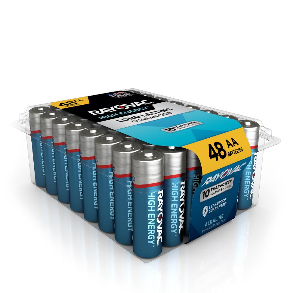 Rayovac High Energy Alkaline Aa Batteries 48 Count Walmart Inventory Checker Brickseek 5 00 79 Off High Energy Walmart Inventory