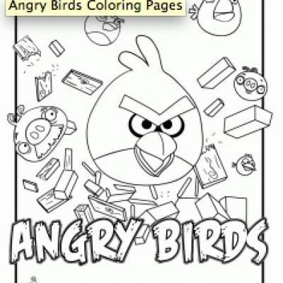 Home For My Monkeys Bird Coloring Pages Angry Birds Coloring Pages