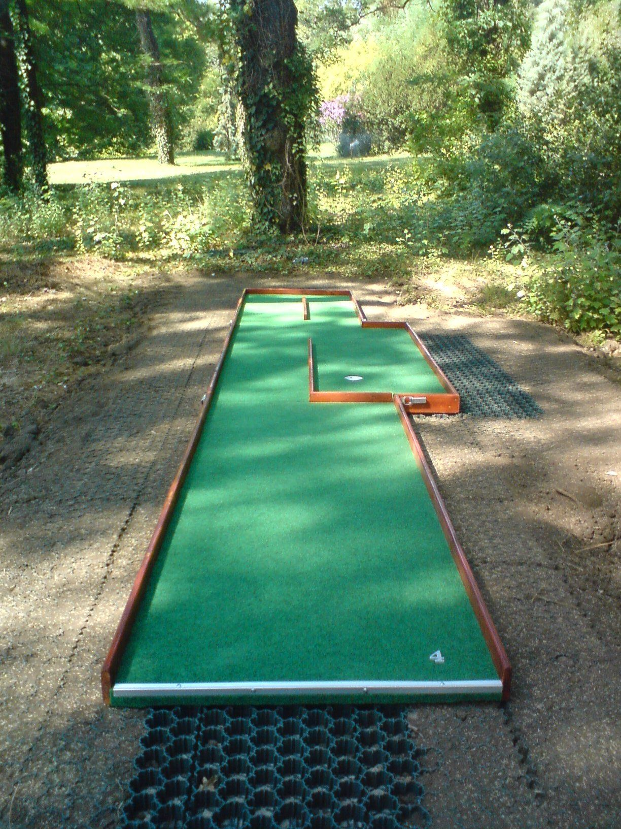 A Course We Have Build Or Made Mini Golf Course Miniature Golf Course Miniature Golf