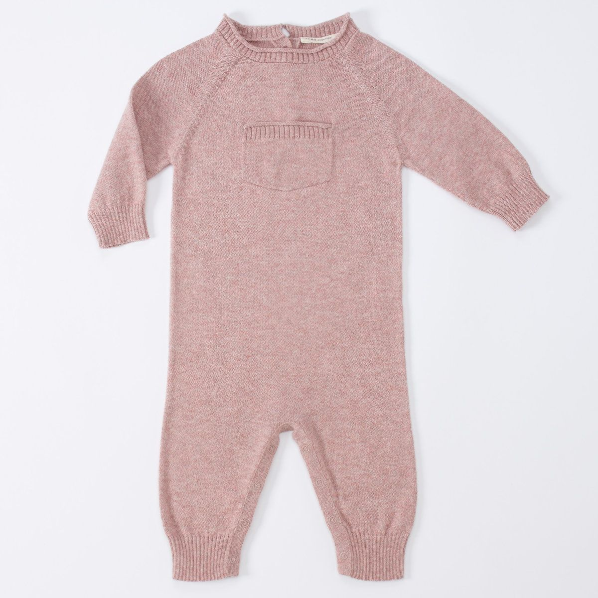 Luxurious Organic Infant and Baby Clothing: onesies : Sweater Coverall w/ Pocket