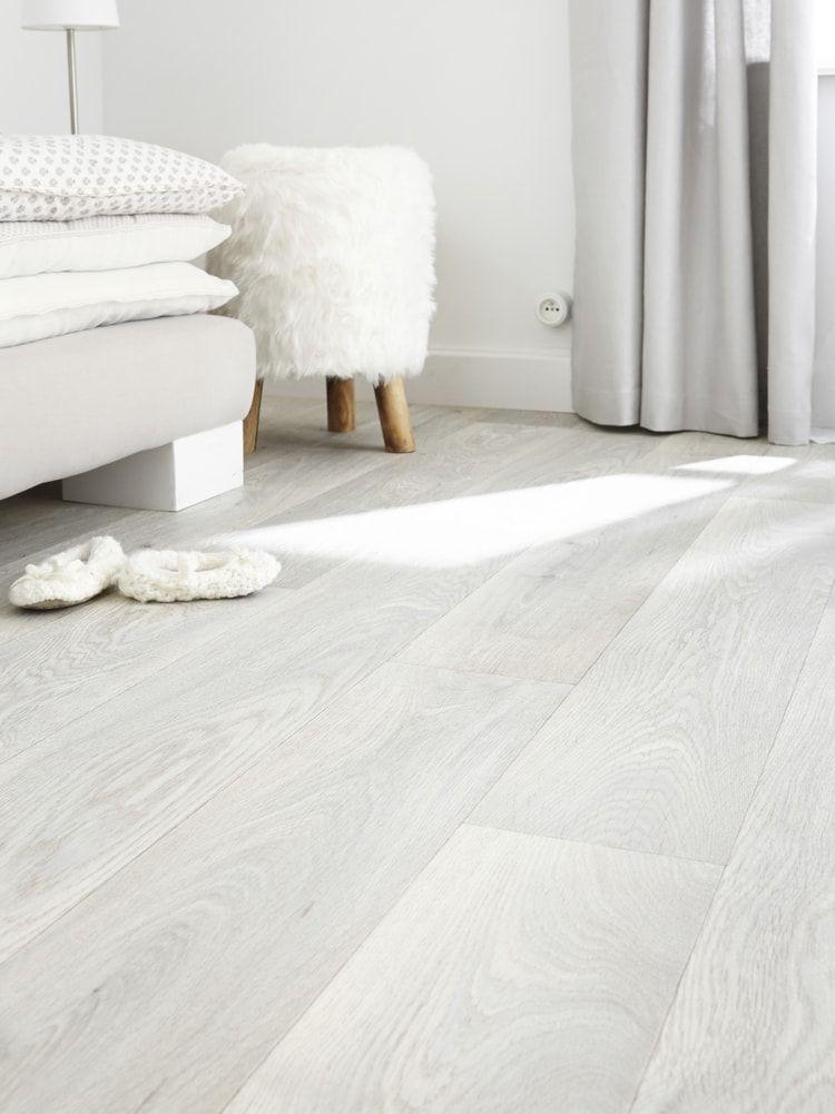 Un Sol Vinyle Blanc Chez Leroy Merlin Parquet Chambre Sol Vinyle Vinyle Blanc