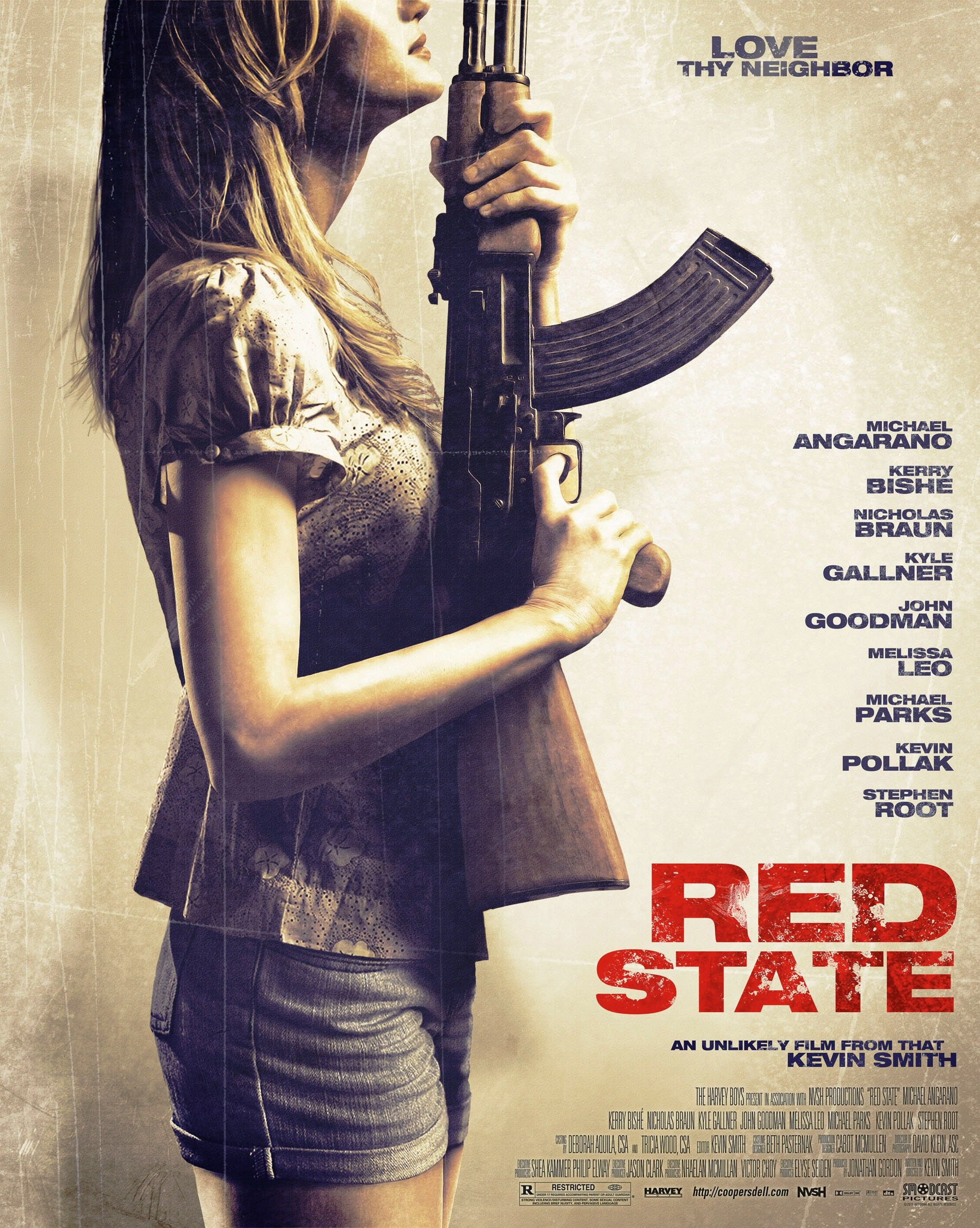 """""""Red State"""" movie poster, 2011. Red state, Will smith, Film"""