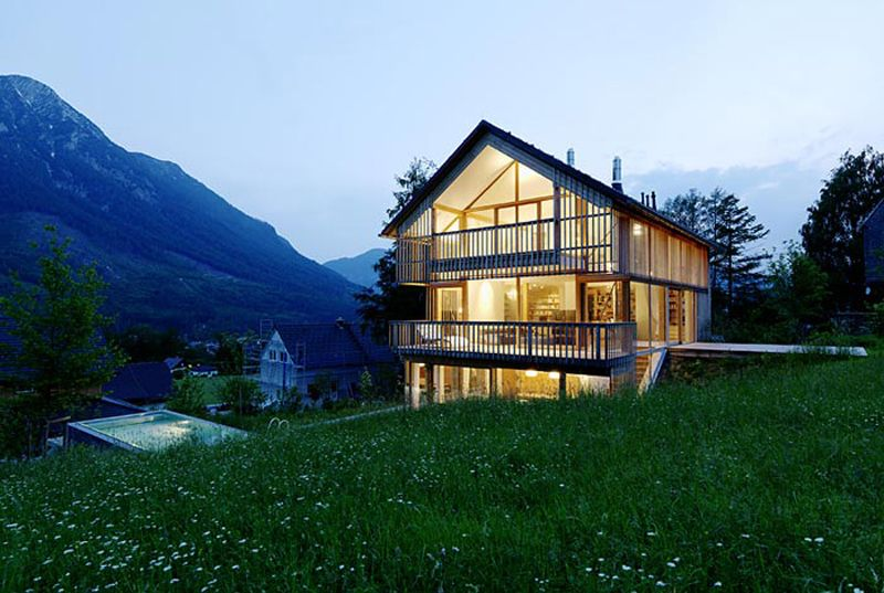 20 Homes with the Most Gorgeous Mountain Views | Mountain houses ...