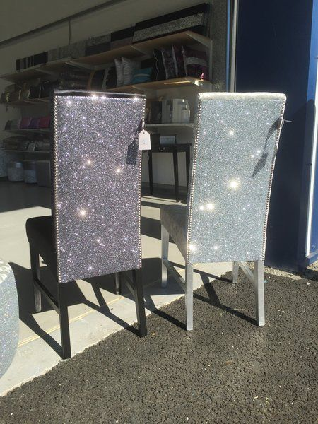 The Stunning Glitter Furniture Company Dining Room Chairs Silver Velvet Dream House