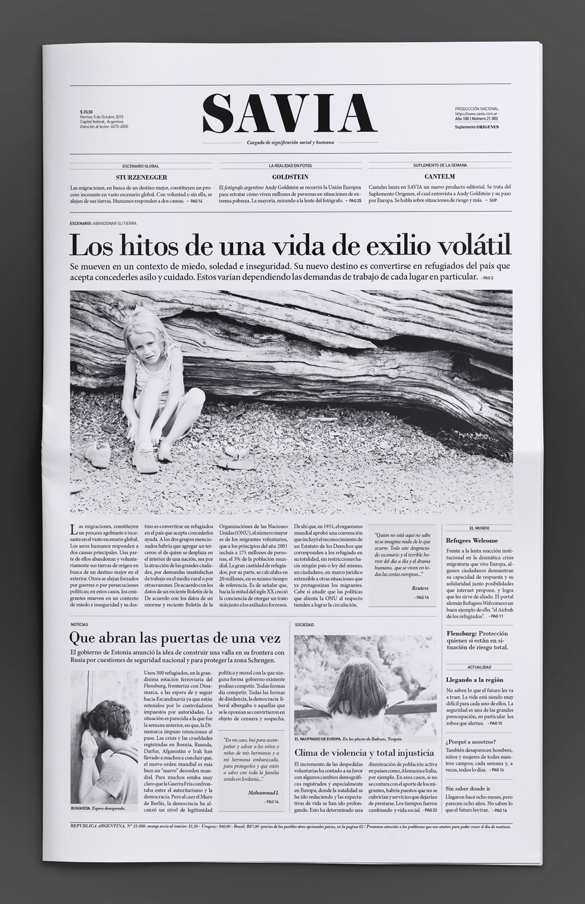Pin by Matthew Curtis on Newspapers | Pinterest | Newspaper, Behance ...