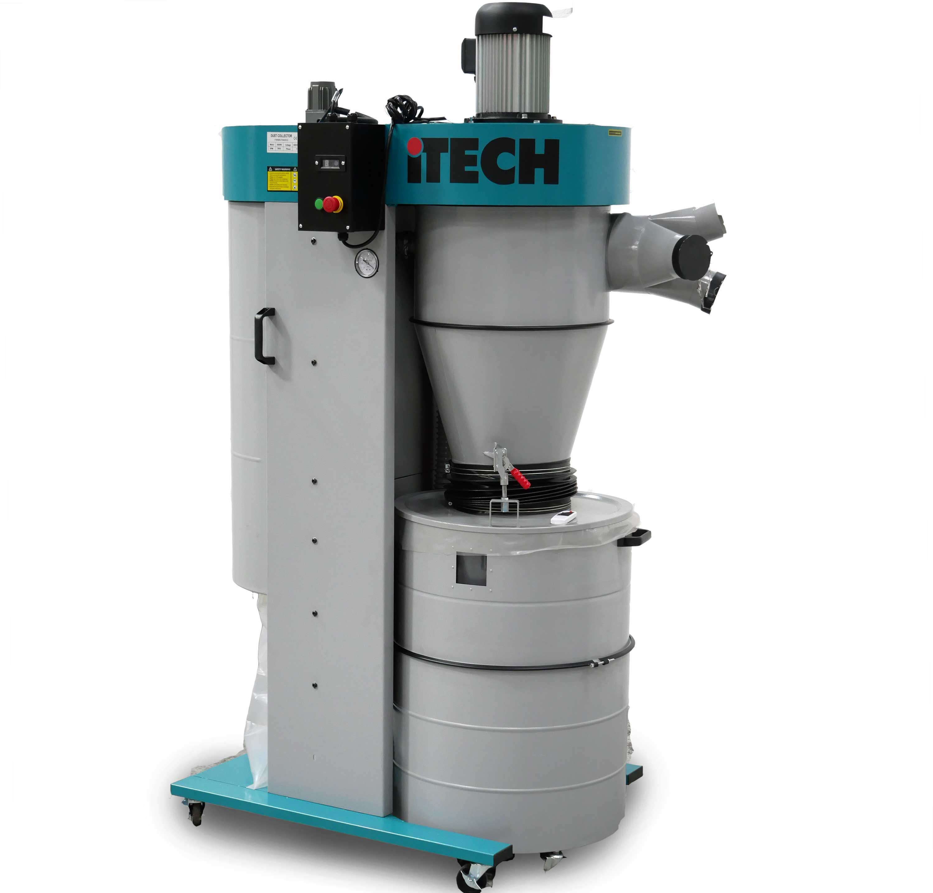 iTECH FM4002200 Cyclone Fine Dust Extractor 1 ph Dust