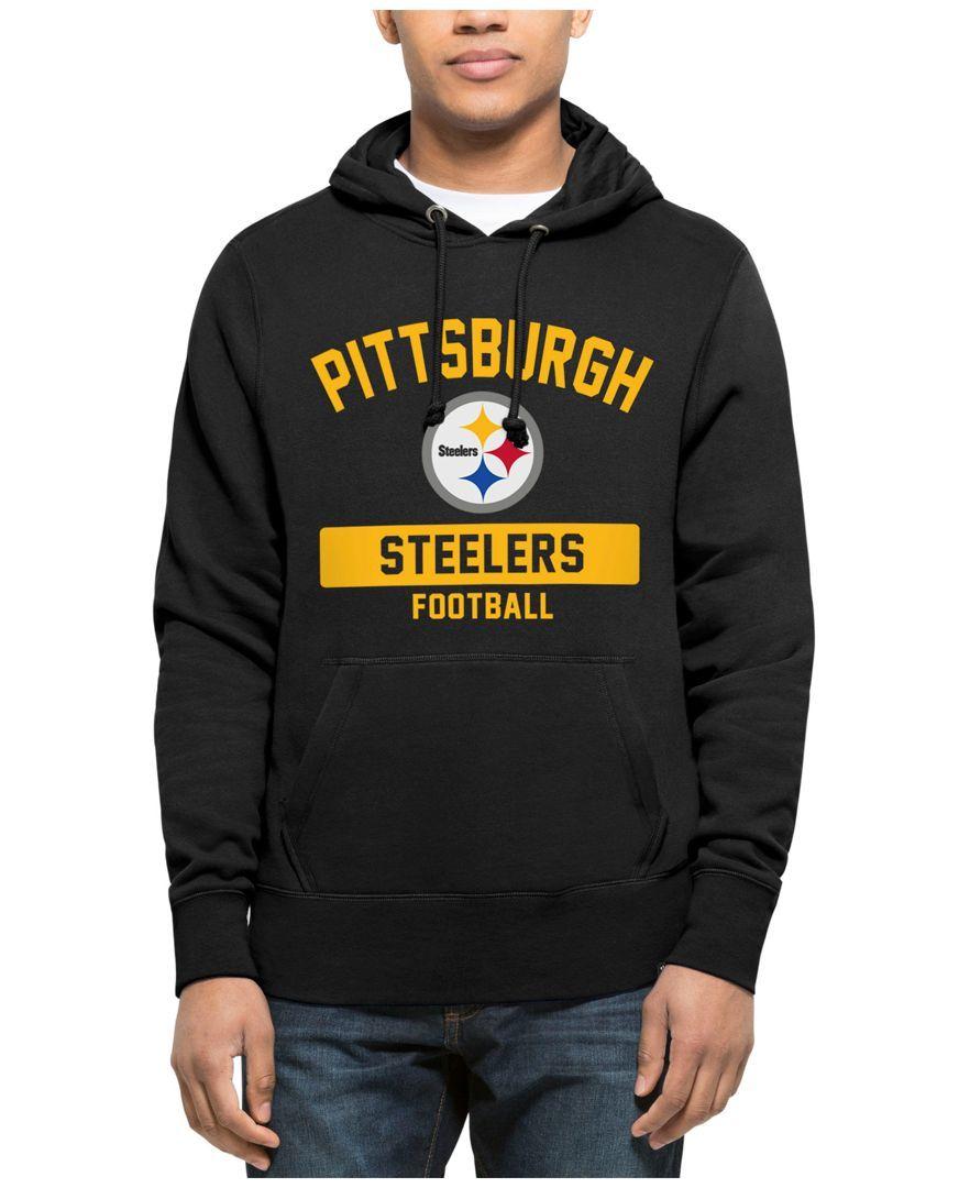 47 Brand Men s Pittsburgh Steelers Gym Issued Hoodie.   b0382c7d4