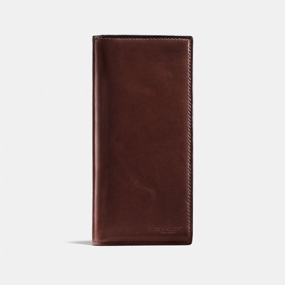 19193207 COACH boxed breast pocket wallet in water buffalo leather. #coach ...