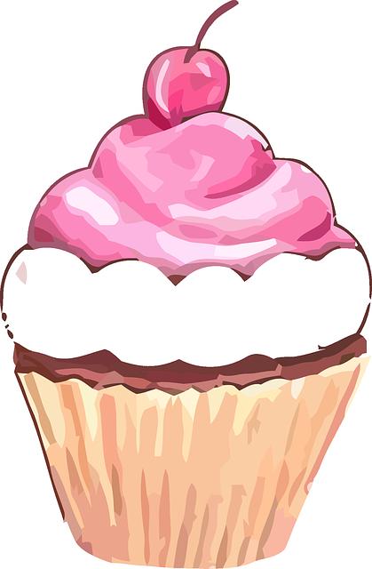 Free Image On Pixabay Cupcake Muffin Sweet Cherry Cupcake Clipart Cupcake Illustration Cupcake Art