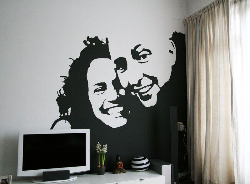 pluimen muurschildering - Google zoeken - Murals   Pinterest ...