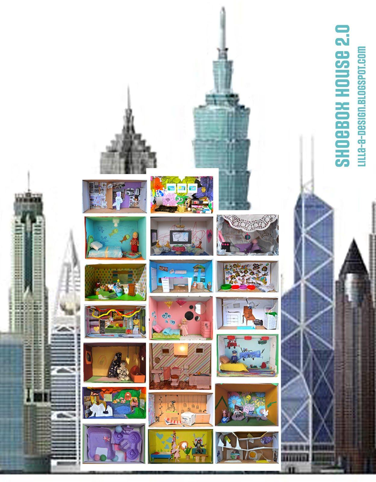 Shoe Box House Ideen Zum Selbermachen Fur Kinder Schuhkarton Ideen