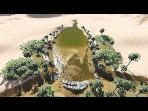 Reversing Desertification with Gabions with Geoff Lawton - YouTube