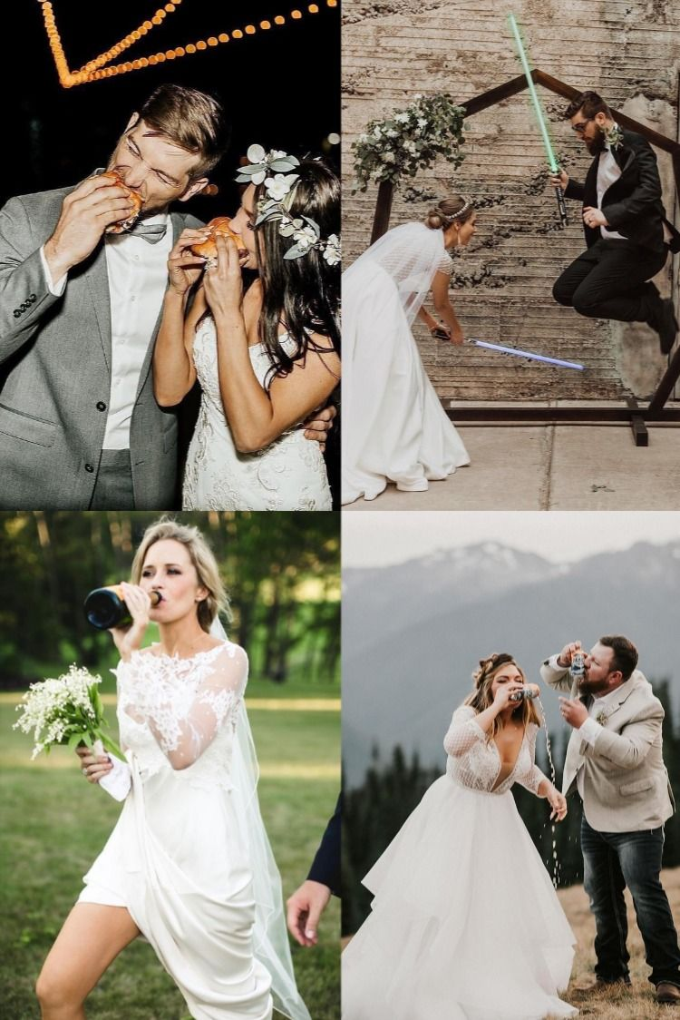 20 Funny Wedding Photo Ideas In 2020 Wedding Humor Funny Wedding Photos Wedding Photography Examples