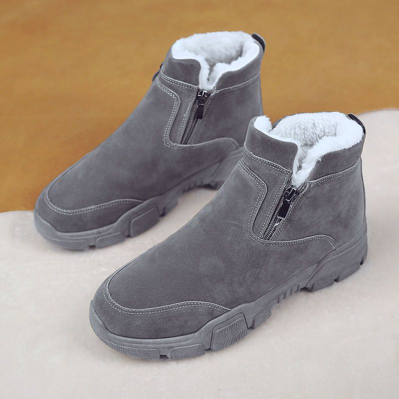 2020 Spring FashionOld Style Retro Boots Ankle Snow Boots Men Large size 3947 Suede Male Winter Sho