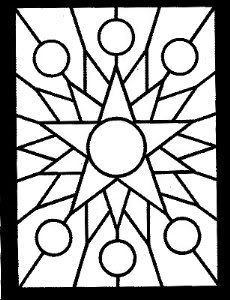 Details Geometric Pattern Coloring Pages for Adults #6926 ... | 300x230