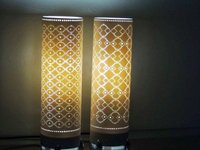 Artesanato Com Garrafa Pet Para Pascoa ~ Barbaridade Reciclagem Luminárias com tubo de PVC