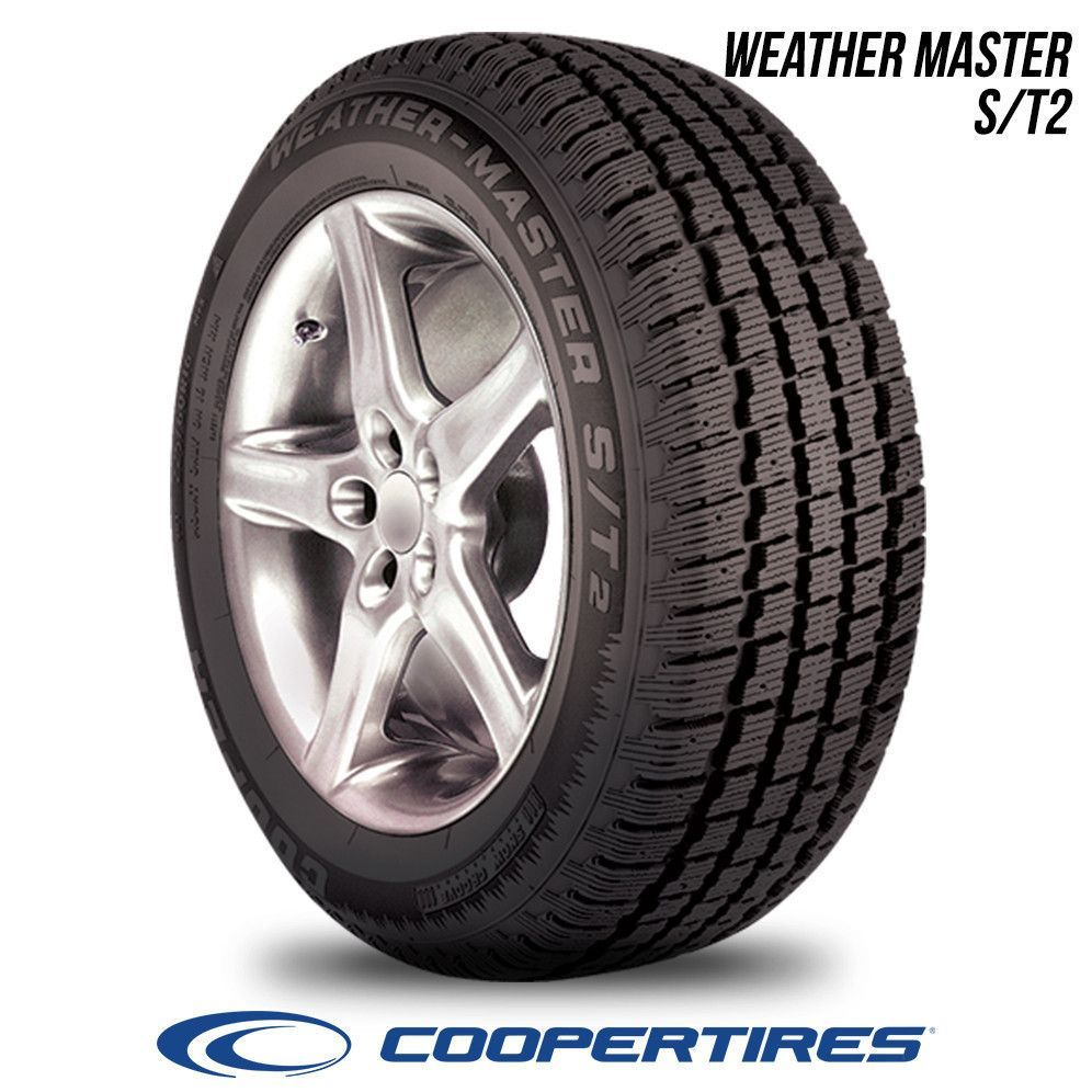 Cooper Weather Master S T2 225 70r15 100s Bw 225 70 15 2257015 Winter Tyres Tire Discount Tires