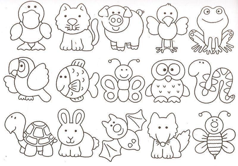 Moldes Animales Jpg 800 556 Pixeles Molde De Animales