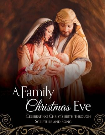 A Family Christmas Eve: Celebrating Christ's Birth Through Scripture and Song. Start a new #Christmas tradition or complement holiday celebrations with this beautifully illustrated book that tells the story of Jesus Christ's miraculous birth through scripture passages and Christ-centered carols. #CreateAMoment
